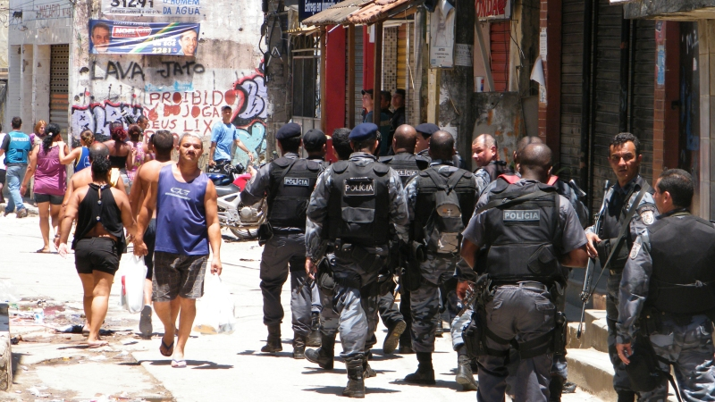 A democratic Brazil doesn't need a military police force