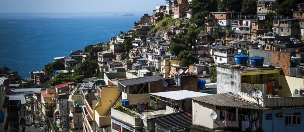 Favela do Vidigal, Rio de Janeiro (Fabio Seixo - O Globo)