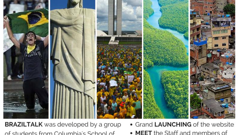 Brazil Talk going live on April1st!
