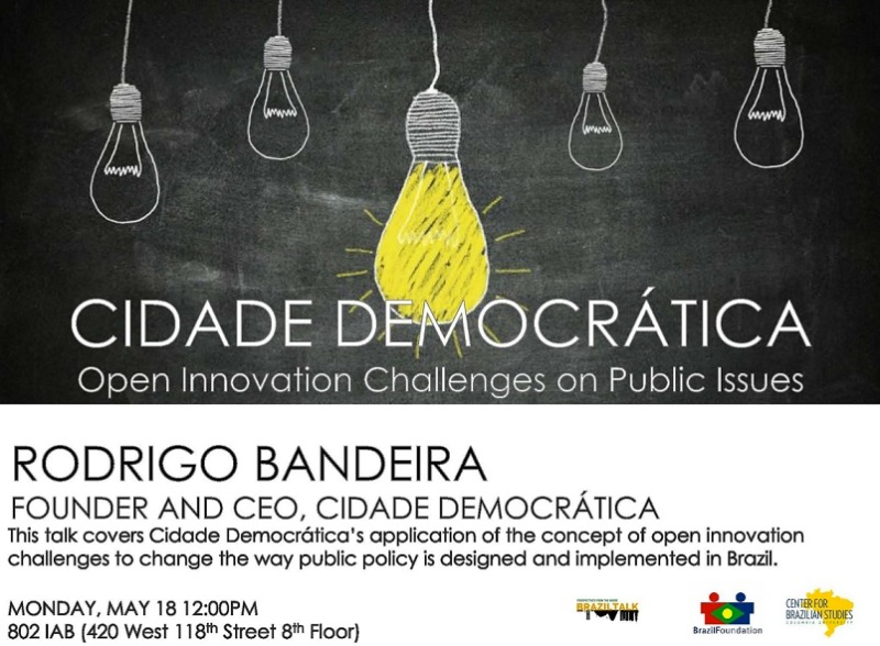 Cidade Democrática: Open Innovation Challenges on PublicIssues