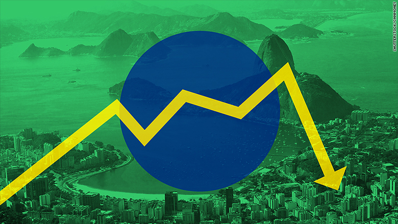 Brazil Enters a Recession and Officials are Divided Over How to Resolve It