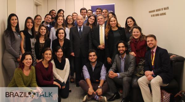 Brazil Talk Visits Brazil's UN Mission
