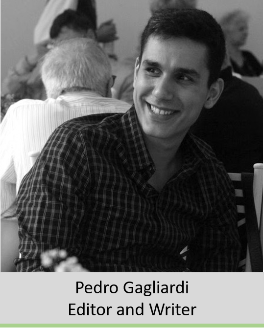 Foto Pedro com legenda